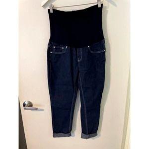 Maternity Jeans Bella Vida Elastic Panel Waist L